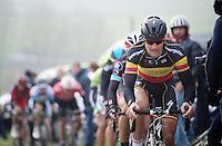 E3 Prijs Harelbeke.Tom Boonen (BEL) up the Paterberg