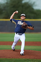 San Diego Padres pitcher Elliot Morris (84) during an instructional league game against the Milwaukee Brewers on October 6, 2015 at the Peoria Sports Complex in Peoria, Arizona.  (Mike Janes/Four Seam Images)
