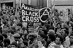 Lewisham, London.1977<br /> The  Battle of Lewisham, which took place on 13 August. 500 members of the National Front marched from New Cross to Lewisham, various counter-demonstrations by approximately 4,000 people led to violent clashes between the two groups and between the anti-NF demonstrators and police. 5,000 police officers were present and 56 officers were injured in the riots, 11 of whom were hospitalised. 214 people were arrested for obstructing the police, threatening behaviour, assault, possession of an offensive weapon and throwing missiles. Later disturbances in Lewisham town centre saw the first use of police riot shields on the UK mainland.