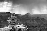 Grand Canyon, Arizona (Black & White)