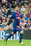 Luis Alberto Suarez Diaz of FC Barcelona in action during the La Liga 2017-18 match between FC Barcelona and Levante UD at Camp Nou on 07 January 2018 in Barcelona, Spain. Photo by Vicens Gimenez / Power Sport Images