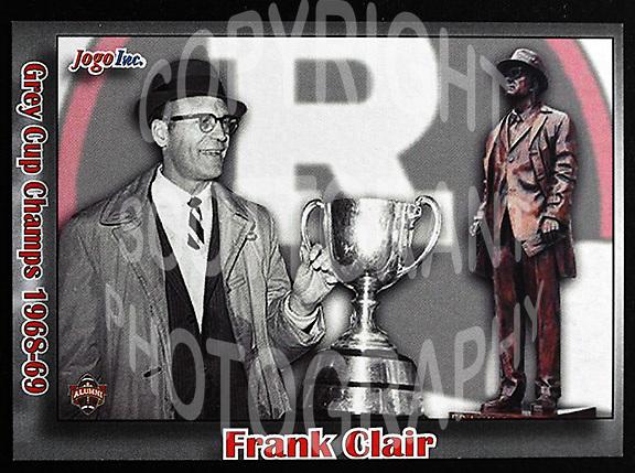 Frank Clair-JOGO Alumni cards-photo: Scott Grant
