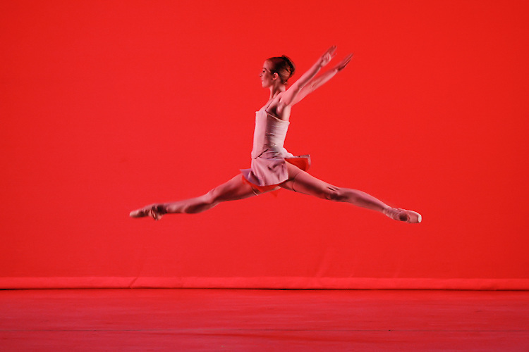 Alissa Dale performs in Nevada Ballet Theatre's 'American Masters' on the campus of UNLV.