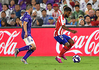 Orlando, FL - Wednesday July 31, 2019:  Thomas Lemar #11 during an Major League Soccer (MLS) All-Star match between the MLS All-Stars and Atletico Madrid at Exploria Stadium.