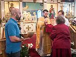 "Sunday of St. Thomas, ""Doubting Thomas"", St. Sava, Jackson<br /> <br /> Holy Communion"