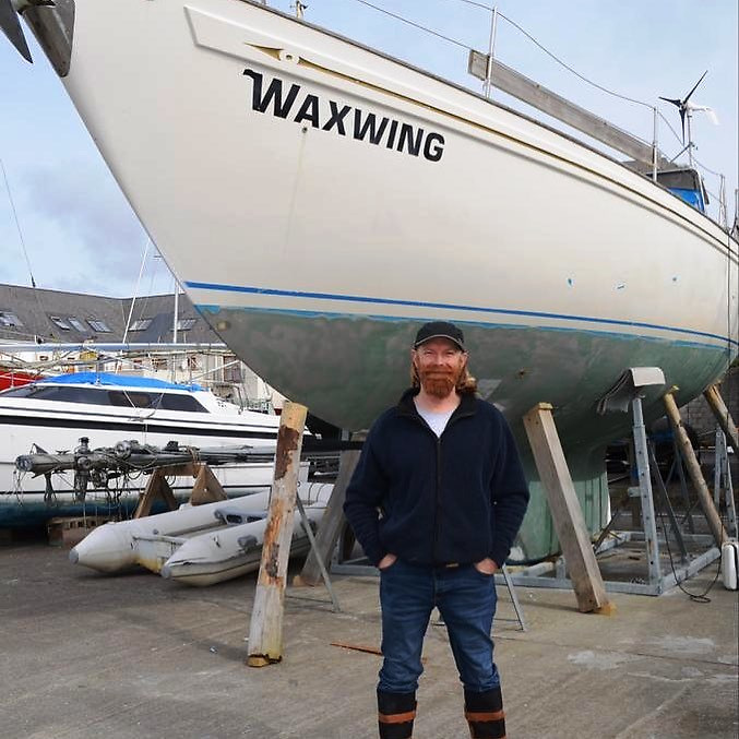This month (August 2021) Peter Lawless plans to sail solo, non-stop, unassisted around the world from Ireland back to Ireland via the five great capes. He will be using a sextant and paper charts as primary navigation tools. If successful, he will be the first Irish person to complete a solo non-stop circumnavigation of the world