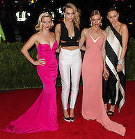 """NEW YORK CITY, NY, USA - MAY 05: Reese Witherspoon, Cara Delevingne, Kate Bosworth, Stella McCartney at the """"Charles James: Beyond Fashion"""" Costume Institute Gala held at the Metropolitan Museum of Art on May 5, 2014 in New York City, New York, United States. (Photo by Xavier Collin/Celebrity Monitor)"""