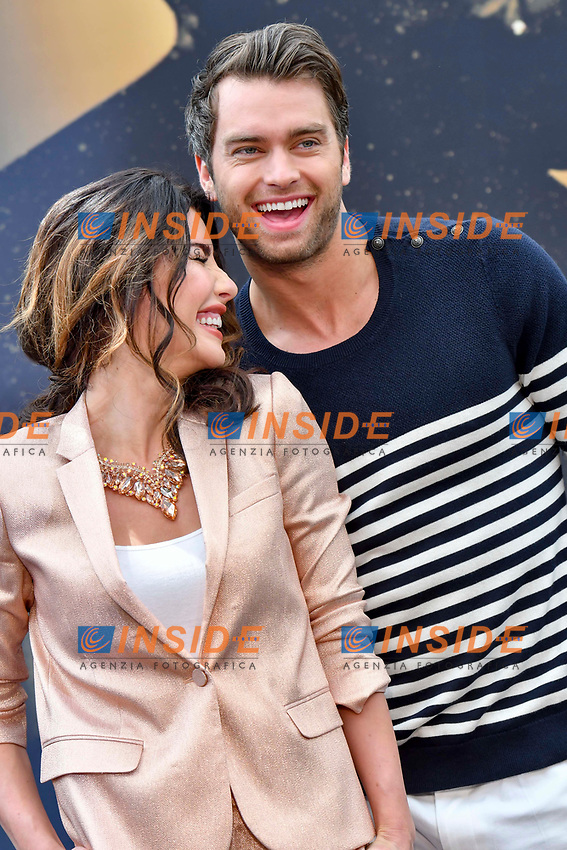 Jacqueline MacInnes Wood (The Bold and the Beautiful) - Pierson Fode (The Bold and the Beautiful)<br /> Monaco - 20/06/2017<br /> 57 festival TV Monte Carlo <br /> Foto Norbert Scanella / Panoramic / Insidefoto
