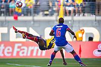 Action photo during the match Ecuador vs Haiti at MetLife Stadium Copa America Centenario 2016. ---Foto  de accion durante el partido Ecuador vs Haiti, En el Estadio MetLife Partido Correspondiante al Grupo - B -  de la Copa America Centenario USA 2016, en la foto: Enner Valencia<br /> <br /> -- 12/06/2016/MEXSPORT/Javier Ramirez.