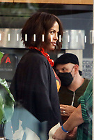 NEW YORK, NY - July 14: Nicole Ari Parker on the set of the HBOMax Sex And The City reboot series 'And Just Like That' in New York City on July 14, 2021. <br /> CAP/MPI/RW<br /> ©RW/MPI/Capital Pictures
