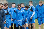 St Johnstone Training…14.04.17<br />Danny SWanson pictured during training at McDiarmid Park this morning ahead of tomorrow's game against Aberdeen.<br />Picture by Graeme Hart.<br />Copyright Perthshire Picture Agency<br />Tel: 01738 623350  Mobile: 07990 594431