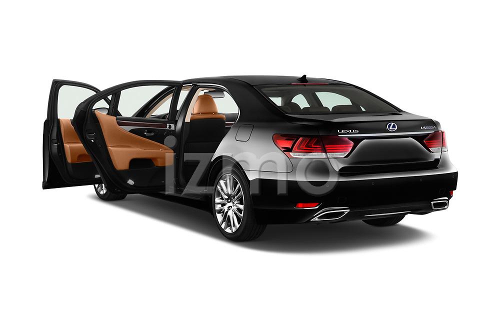 Car images of 2016 Lexus LS 600H-L-President-Line 4 Door Sedan Doors