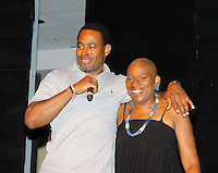 08-08-15 More Nat. Black Theatre Festival - Nana Rucker & son Lamman & friends