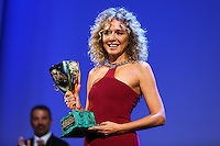 Valeria Golino attends the closing ceremony during the 72nd Venice Film Festival at the Palazzo Del Cinema in Venice, Italy, September 12, 2015.<br /> UPDATE IMAGES PRESS/Stephen Richie