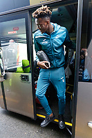 Tammy Abraham of Swansea City arrives prior to the game during the Premier League match between Watford and Swansea City at the Vicarage Road, Watford, England, UK. Saturday 30 December 2017