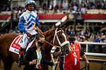 MAY 15, 2021:  Ram and Ricardo Santana Jr.before the Preakness Stakes at Pimlico Racecourse in Baltimore, Maryland on May 15, 2021. EversEclipse Sportswire/CSM