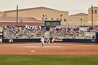 SAN ANTONIO, TX - FEBRUARY 21, 2016: The University of Texas at San Antonio Roadrunners defeat the University of Virginia Cavaliers 5-4 at UTSA Roadrunner Field. (Photo by Jeff Huehn)