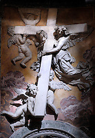 St Peter's Basilica at the Vatican  particularly  Crucifix; crocefisso; Croce; Cross; May 2010...