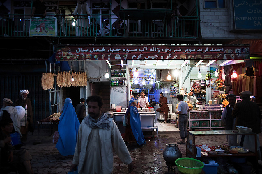 Scenes from Kabul's market streets. July 2010.