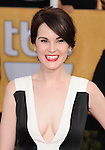 Michelle Dockery attends The 20th SAG Awards held at The Shrine Auditorium in Los Angeles, California on January 18,2014                                                                               © 2014 Hollywood Press Agency