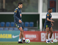 11th November 2020; Granja Comary, Teresopolis, Rio de Janeiro, Brazil; Qatar 2022 qualifiers; Pedro of Brazil during training session in Granja Comary