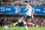 Xabi Alonso of Bayern Munich in action during the Bayern Munich vs Guangzhou Evergrande as part of the Bayern Munich Asian Tour 2015  at the Tianhe Sport Centre on 23 July 2015 in Guangzhou, China. Photo by Aitor Alcalde / Power Sport Images