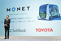 Toyota and Softbank to develop self-driving cars together