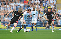 Blackburn Rovers' Bradley Dack under pressure from Bolton Wanderers' Luca Connell<br /> <br /> Photographer Kevin Barnes/CameraSport<br /> <br /> The EFL Sky Bet Championship - Blackburn Rovers v Bolton Wanderers - Monday 22nd April 2019 - Ewood Park - Blackburn<br /> <br /> World Copyright © 2019 CameraSport. All rights reserved. 43 Linden Ave. Countesthorpe. Leicester. England. LE8 5PG - Tel: +44 (0) 116 277 4147 - admin@camerasport.com - www.camerasport.com