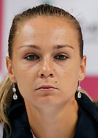 Tenis, Fed Cup 2011, play-off for group A.Slovakia Vs. Serbia, Official Draw.Magdalena Rybarikova. Bratislava, 15.04.2011..foto: Srdjan Stevanovic/Starsportphoto ©