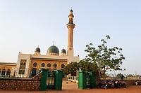 NIGER Niamey, Grand mosque, built 1977-1989, financed by libyan dictator Muammar al-Gaddafi