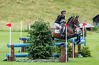 GBR-Phil Brown rides Harry Robinson during the Cross Country for the CCI4*-S. 2021 GBR-Barbury International Horse Trials. Wiltshire. Great Britain. Saturday 10 July. Copyright Photo: Libby Law Photography