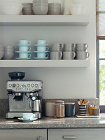 Coffee Station - with mugs, spoons and sugar all nearby, nothing stands between you and your morning cup - just add milk!