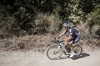 Philipp Walsleben (DEU/Alpecin-Fenix)<br /> <br /> 14th Strade Bianche 2020<br /> Siena > Siena: 184km (ITALY)<br /> <br /> delayed 2020 (summer!) edition because of the Covid19 pandemic > 1st post-Covid19 World Tour race after all races worldwide were cancelled in march 2020 by the UCI