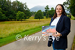 Eleanor Turner, biosphere officer of the Kerry UNESCO Biosphere Reserve who has launched a competition to design a logo for the reserve.