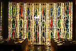 Restaurant Karu and Y in Miami's Wynwood district. ....Art Basel invades Miami every year in December. This is it's fifth year in South Florida. Galleries from all around the world come to Miami to show their latest works. Over $100 million worth of art was sold during the week of December 7-10.