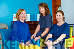 Liz Downey with Dr. Patricia Sheahan (Consultant Palliative Medicine) and Marie O'Connell (Director of Nursing Kerry Specialist Palliative Care Services)