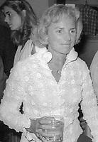 Ethel Kennedy 1980<br /> Photo By Adam Scull/PHOTOlink.net