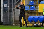 Meunchens Trainer Alexander Schmidt  beim Spiel in der 3. Liga, SV Waldhof Mannheim - Türgücü München.<br /> <br /> Foto © PIX-Sportfotos *** Foto ist honorarpflichtig! *** Auf Anfrage in hoeherer Qualitaet/Aufloesung. Belegexemplar erbeten. Veroeffentlichung ausschliesslich fuer journalistisch-publizistische Zwecke. For editorial use only. DFL regulations prohibit any use of photographs as image sequences and/or quasi-video.