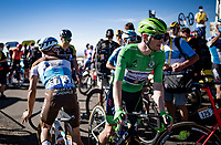 Green Jersey Sam Bennett (IRE/Deceuninck-Quick Step) after finishing up Mont Aigoual in the grupetto<br /> <br /> Stage 6 from Le Teil to Mont Aigoual (191km)<br /> <br /> 107th Tour de France 2020 (2.UWT)<br /> (the 'postponed edition' held in september)<br /> <br /> ©kramon