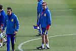 Spainsh coach Julen Lopetegui during the training of the spanish national football team in the city of football of Las Rozas in Madrid, Spain. November 09, 2016. (ALTERPHOTOS/Rodrigo Jimenez)