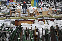 The art of barricades in Maidan Square