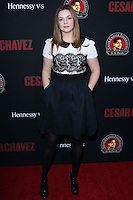 """HOLLYWOOD, LOS ANGELES, CA, USA - MARCH 20: Amber Tamblyn at the Los Angeles Premiere Of Pantelion Films And Participant Media's """"Cesar Chavez"""" held at TCL Chinese Theatre on March 20, 2014 in Hollywood, Los Angeles, California, United States. (Photo by David Acosta/Celebrity Monitor)"""