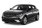 2020 Opel Corsa Elegance 5 Door Hatchback angular front stock photos of front three quarter view