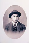 Photo of Fong Chow Yow, locally known as Jimmy Chow, last Chinese of Fiddletown and caretaker of the Chew Kee Store (Chinese herb store) once owned by Chinese doctor Chew Kee during the California Gold Rush, then cared for by Jimmy Chow, adopted son until his death in 1965 in the town formally known as Oleta.