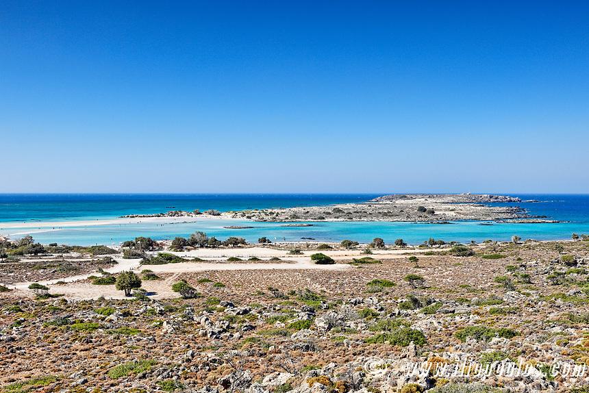 The exotic Elafonissos in Crete, Greece
