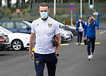 St Johnstone v Galatasaray…12.08.21  McDiarmid Park Europa League Qualifier<br />Zander Clark arrives ahead of tonight's game against Galatasaray<br />Picture by Graeme Hart.<br />Copyright Perthshire Picture Agency<br />Tel: 01738 623350  Mobile: 07990 594431