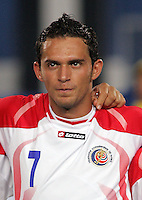 Costa Rica's Marcos Urena (7) stands on the field before the match against Egypt during the FIFA Under 20 World Cup Round of 16 match at the Cairo International Stadium on October 06, 2009 in Cairo, Egypt.