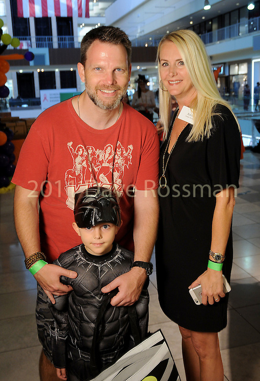 Annie and Homer Starkey with Liam at the Little Galleria Halloween Spooktacular presented by MD Anderson Children's Cancer Hospital at The Galleria Sunday Oct. 30,2016.(Dave Rossman photo)