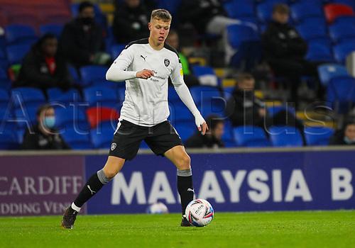 3rd November 2020; Cardiff City Stadium, Cardiff, Glamorgan, Wales; English Football League Championship Football, Cardiff City versus Barnsley; Mads Andersen controls the ball