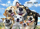 Howard, REALISTIC ANIMALS, REALISTISCHE TIERE, ANIMALES REALISTICOS, paintings+++++,GBHR928,#a#, EVERYDAY ,selfies